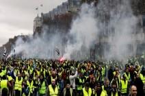باريس.. تظاهر أكثر من 33 ألفاً من السترات الصفر (فيديو)