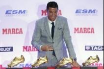 رونالدو متعطش لمزيد من الجوائز بعد تسلمه الحذاء الذهبي