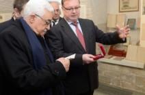 عباس يستقبل رئيس الجمعية الامبراطورية الأرثودكسية برام الله