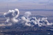 """صاروخ بريطاني بشعار """"تحية من مانشستر"""" ينفجر بسوريا (صور)"""