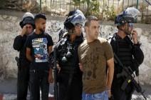 الاحتلال يعتقل 13 فلسطينيا من الضفة والقدس