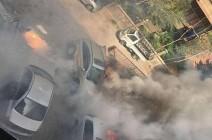 سقوط قذائف صاروخية على أحياء سكنية في العاصمة دمشق ..صور