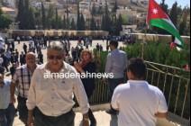 صور من تشييع الكاتب الأردني ناهض حتر