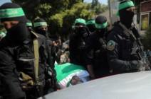 """تشييع جثمان """"فقهاء"""" في غزة وحماس تؤكد: كتائب القسّام قادرة على الرد بالمثل"""