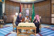 بالصور ..الملك سلمان: ندعم دولة فلسطينية عاصمتها القدس الشرقية