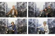 إيرانيون يتباهون بإلتقاط صور بين أنقاض حلب