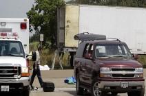 العثور على 29 شخصا داخل شاحنة في ولاية تكساس (فيديو)