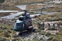 الصور الأولى لتحطم المروحية العراقية