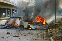 مقتل ضباط وجنود عراقيين واصابة آخرين بهجوم شمال بغداد
