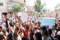 مظاهرات تطالب بخروج القوات الكردية من ريف حلب (فيديو)