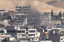 خسائر للنظام بوادي بردى وحرستا وتراجع بدير الزور
