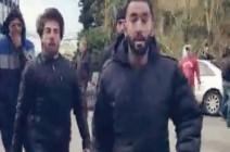 فيديو لاشتباك في بيروت.. عناصر حزبية تعتدي على متظاهرين