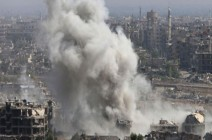 النظام السوري يستهدف حي جوبر بالغاز السام