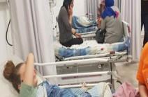 بالصور :  عهد التميمى تنجو من الموت بعد حادث سير برفقة والديها فى فلسطين