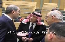 بالفيديو : كولسات وزارية ونيابية قبل جلسة فلسطين