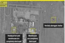 بالصور.. تدمير مقرات ومستودعات للحرس الثوري في دمشق