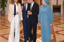 هذا ما قالته ميلانيا ترامب عن استقبالها بمصر (فيديو)