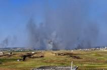 النظام السوري: التصدي لطائرات مسيرة في أجواء حماة