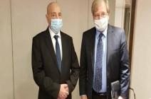 عقيلة صالح يبحث مع السفير الأميركي مبادرته للحل في ليبيا