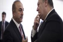 بومبيو يبحث التعاون الأمني  مع نظيره التركي