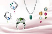 أجمل موديلات مجوهرات التورمالين