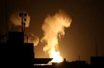 موجة ضربات إسرائيلية جديدة على قطاع غزة