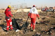 بالفيديو : لقطات مؤثرة للحظة سقوط الطائرة الأوكرانية بطهران