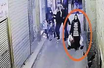 """فيديو.. ثانية واحدة حسمت مصير """"حاملة الأكياس"""" بتفجير القاهرة"""