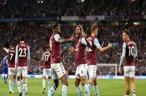 أستون فيلا يحصد أولى نقاطه في الدوري الإنجليزي