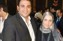 زوجة أكرم حسني تتخلى عن حجابها في أحدث ظهور لها
