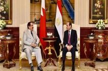 الرئيس المصري وملك البحرين يجريان مباحثات في القاهرة