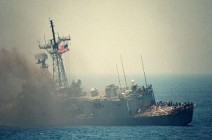 4 غرقى وفقدان 9 بغرق سفينة عراقية في الخليج العربي
