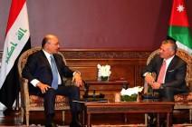 الملك والرئيس العراقي يتفقان على توسيع التعاون الاقتصادي بين البلدين