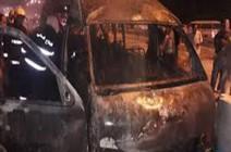 بالفيديو : العراق.. مقتل 12 شخصًا بتفجير داخل حافلة في كربلاء