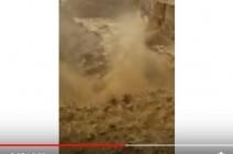 بالفيديو شاهدوا : سيول في البحر الميت