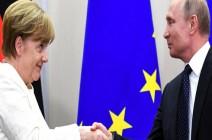 بوتين يزور ألمانيا.. وميركل تحذّر: لا تتوقعوا الكثير