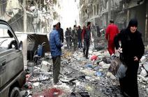 حلب تعاني من نقص الغذاء والدواء في ظل استمرار الغارات السورية والروسية