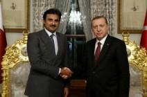 مباحثات بين الرئيس التركي وأمير قطر في إسطنبول