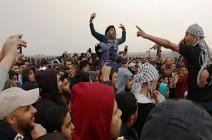 """حماس  رسائل """"مليونية العودة وكسر الحصار"""""""
