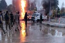 بالفيديو : انفجار سيارة مفخخة برأس العين شرق الفرات