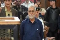 حكم نهائي ثان بالسجن المؤبد على مرشد الإخوان في مصر