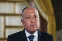 وزير خارجية مصر يهاجم تركيا : تزعزع الأمن والاستقرار في المنطقة
