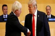 ترمب: جونسون سيكون رئيس وزراء عظيماً
