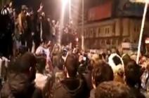بالفيديو: مظاهرات للصدريين تنديدا بتردي الأمن ببغداد