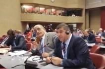 بالفيديو : كلمة نارية للسعود ضد اسرائيل  في اجتماعات الاتحاد البرلماني الدولي