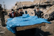 """""""مجزرة الموصل"""".. انتشال 500 جثة والتحالف يحقق"""