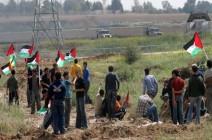 إصابة فلسطيني برصاص الإحتلال الإسرائيلي في مواجهات على حدود غزة