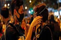 شاهد : مئات الآلاف يواصلون الاحتجاج في هونغ كونغ