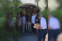 بوش الابن يقدم لحراسه بيتزا بدلا من الراتب