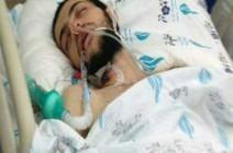 المعتقل الإداري مالك القاضي يستفيق من غيبوبته بعد ثمانية أيام